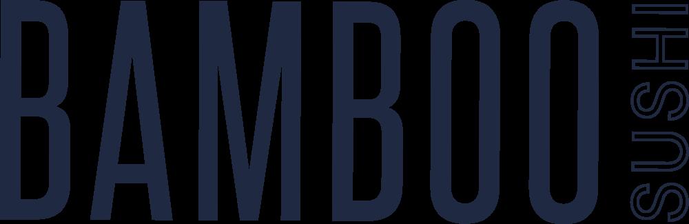 Bamboo Sushi Logo Blue