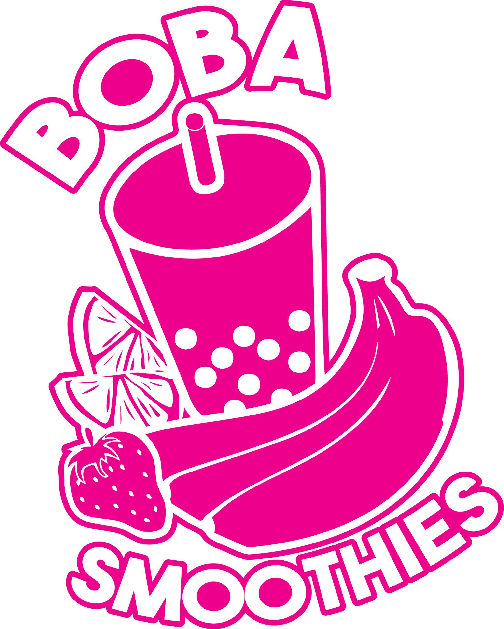 Boba Smoothies T Shirt Design