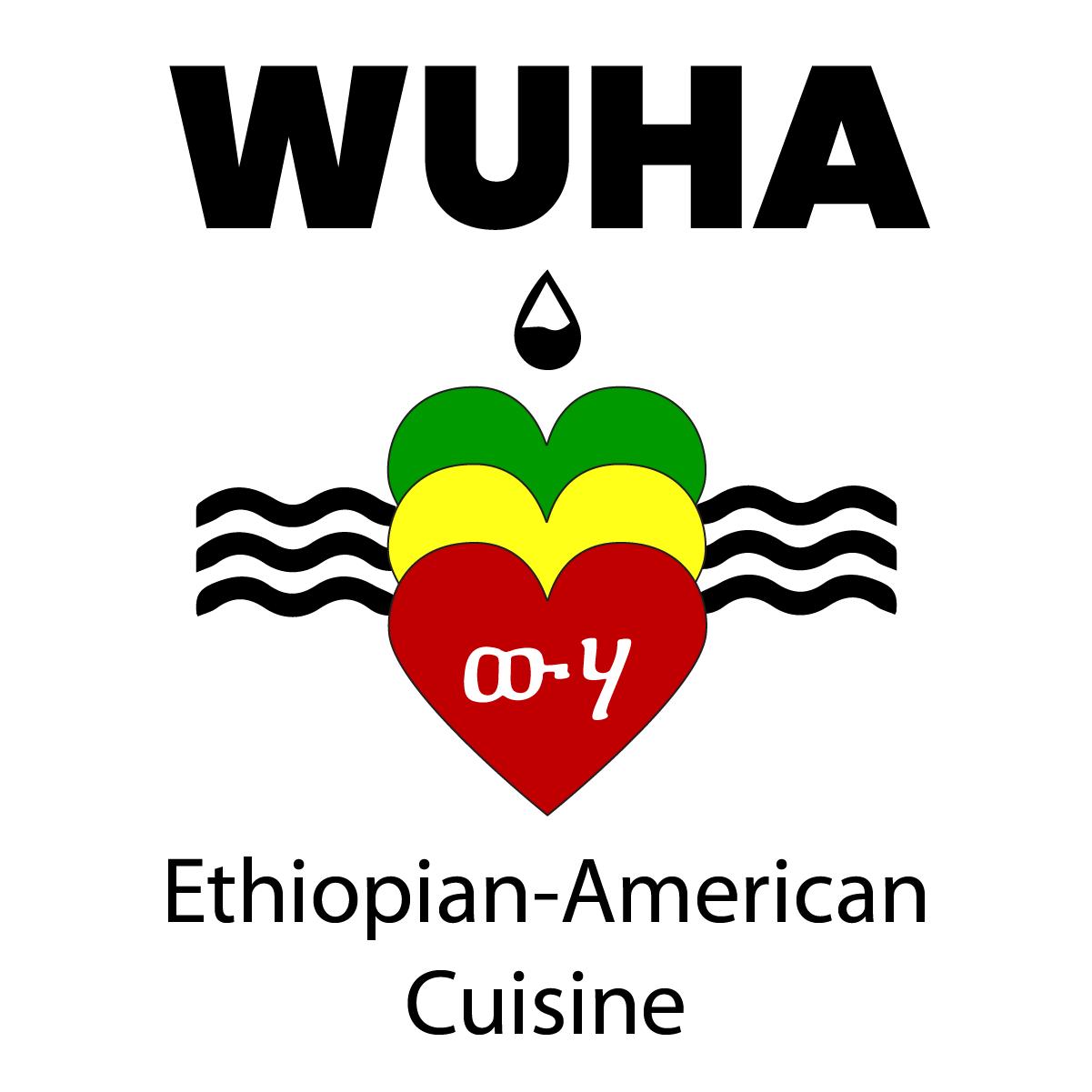 Wuha Logo White Background Stacked