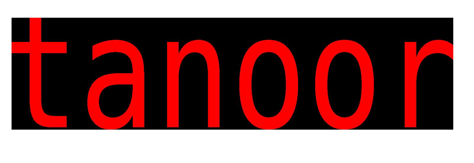 Tanoor Logo
