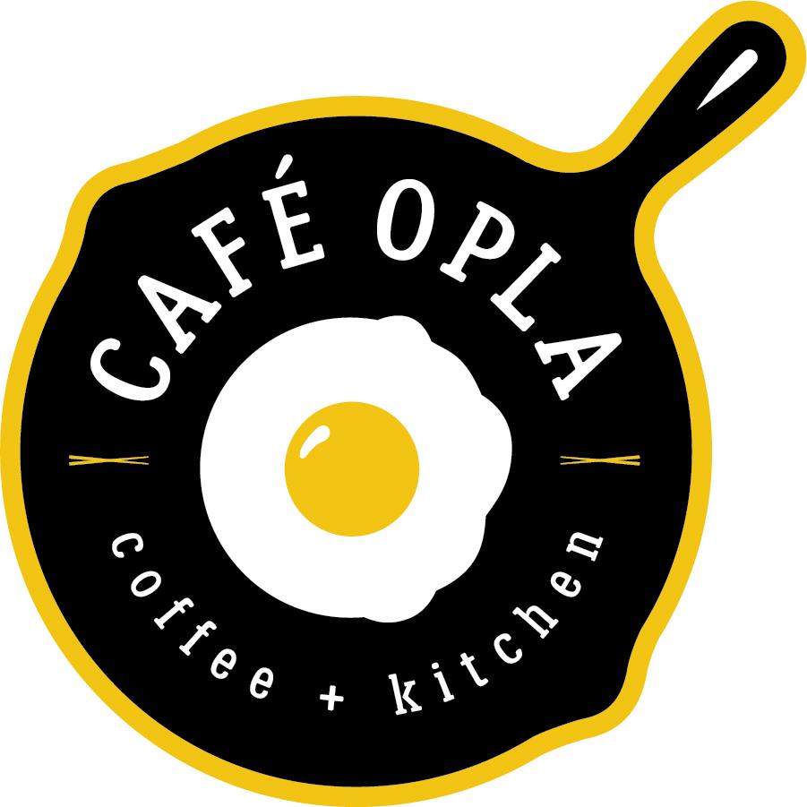 Cafe Opla Final Logos 2017 Cafeopla Logo Secondary 4